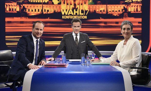 Matthias Strolz, Tarek Leitner, Ulrike Luancek