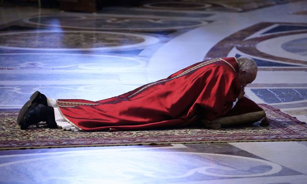 Papst Franziskus - Karfreitagsliturgie