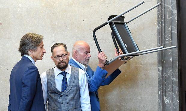 Karl-Heinz Grasser, Norbert Wess und Manfred Ainedter