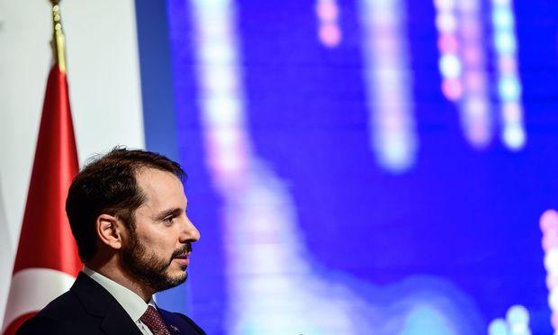 Der türkische Finanzminister Berat Albayrak.