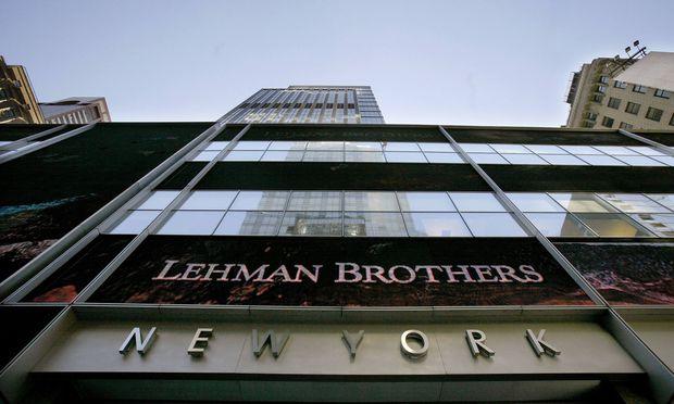 Vor zehn Jahren markierte der Zusammenbruch der US-Investmentbank Lehman Brothers den Höhepunkt der Finanzkrise