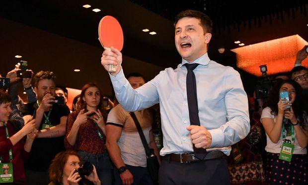 Selenskij ist ein Wagnis – und die ukrainischen Wähler wissen das.