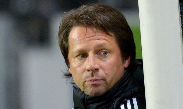 Peter Schöttel bleibt bei Rapid bis 2015