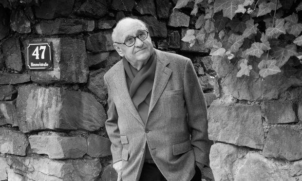 """Visualisierungen? """"Unsinn."""" Gustav Peichl, geboren am 18. März 1928."""