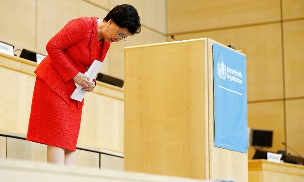 Margaret Chan übergibt in der WHO in Kürze das Ruder.