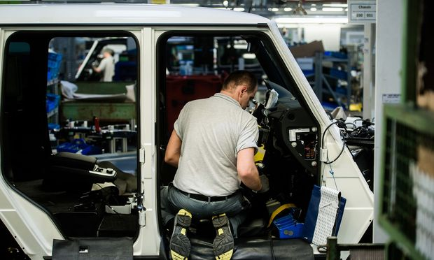Manufacture Of Mercedes Benz AG G-Class Automobiles