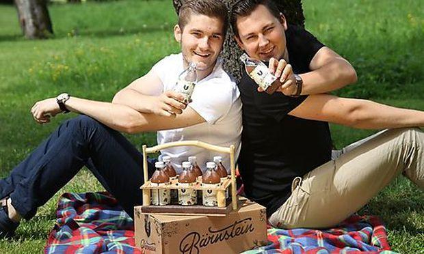 Die beiden Bärnstein-Gründer Lukas Renz(links) und Martin Paul(rechts)