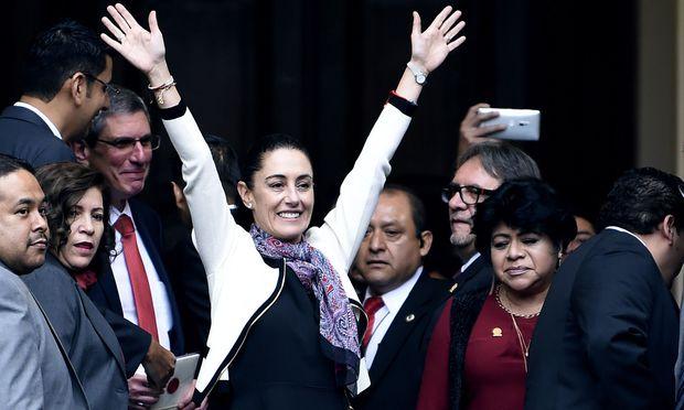 Mexiko-Stadt hat erstmals eine gewählte Bürgermeisterin