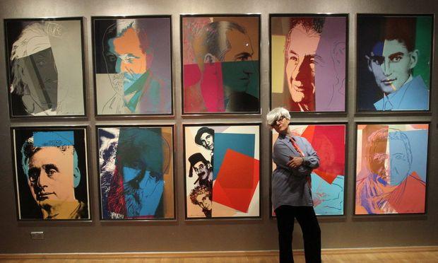 Kunstwerke von Andy Warhol