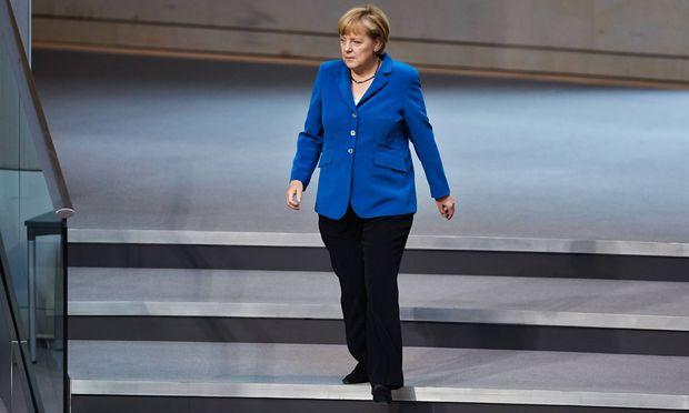 Angela Merkel erhielt Lob von höchster Mode-Ebene.