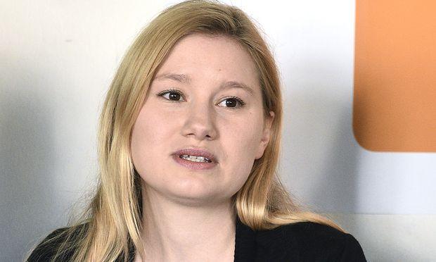 Spitzenkandidatin Johanna Zechmeister.
