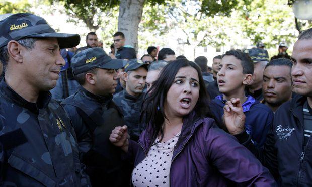 Neue Proteste in Tunesien