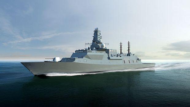 Der britische Bewerber für die neuen Fregatten Australiens: die Type 26 von BAE Systems.