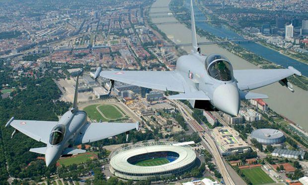 Eurofighter fliegt geschmiert