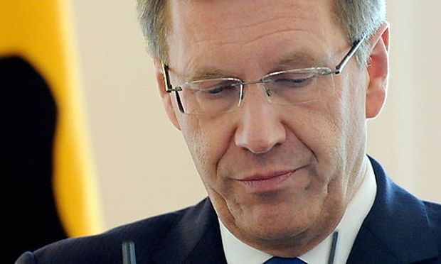 GERMANY WULFF RESIGNS