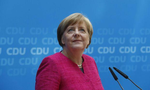 Angela Merkel kann derzeit zufrieden lächeln.