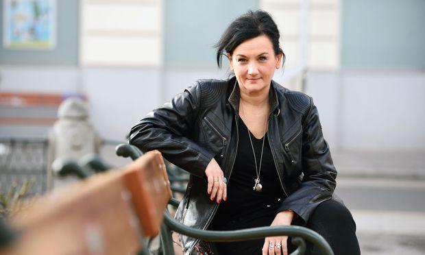 Autorin, Schauspielerin, Regisseurin: Theresa Prammer in Wien.