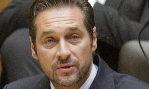 FPÖ-Chef Strache im Nationalrat.