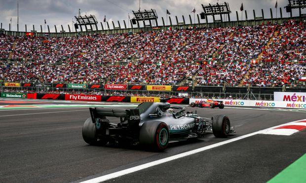 Motorsports FIA Formula One World Championship WM Weltmeisterschaft 2018 Grand Prix of Mexico 44