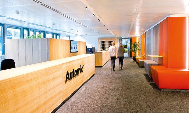 Offenheit und Transparenz waren die Gestaltungsideen bei Automic