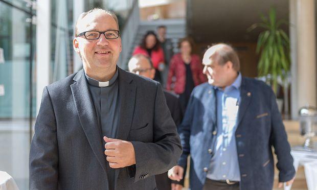 Der neue Innsbrucker Diözesanbischof Hermann Glettler.