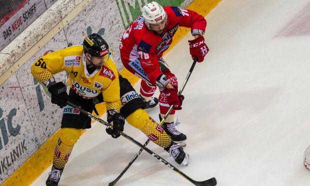 Vienna Capitals vs. KAC Klagenfurt.