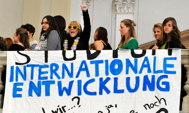 Internationale Entwicklung Bachelor abgeschafft