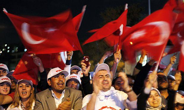 Erfolg fuer Erdogan Tuerkei
