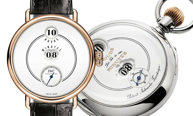 """Mit der """"Pallweber Edition 150 Years"""" lässt IWC eines der legendärsten historischen Modelle des Unternehmens als Armbanduhr wieder aufleben."""