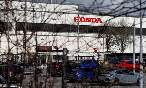 Das Honda-Werk in Swindon wird geschlossen.