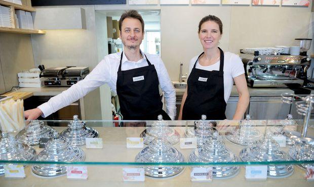 Lisa und Giorgio Leone