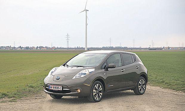 Viel Platz an Bord und mit neuem Akku gut 200 km am Stück: Nissan Leaf.