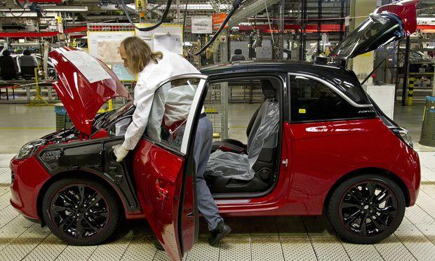 In Eisenach werden nur noch kleine Opel gebaut