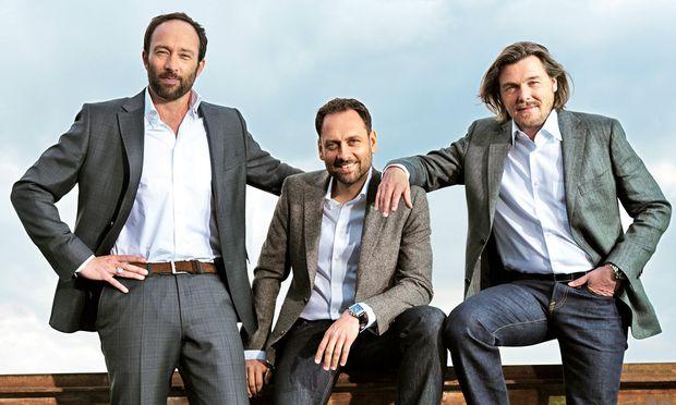Graft Architekten. Wolfram Putz, Thomas Willemeit, Lars Krückeberg und 90 Mitarbeiter.
