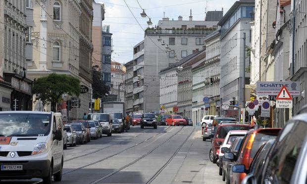 Zwischen Schick Und Heftig Wiener Ottakringer Strase