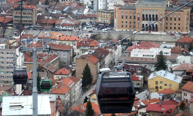 Der türkische Präsident besucht Sarajewo.