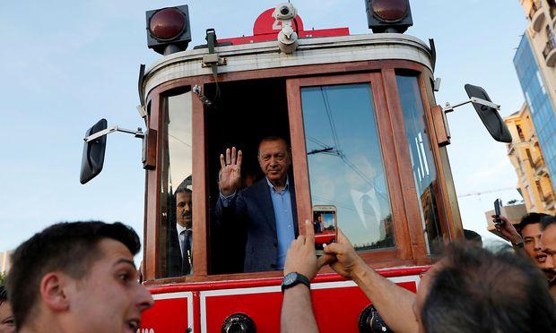 Der türkische Präsident Erdogan. Die türkische Lira war im August inmitten eines Streits mit den USA eingebrochen.