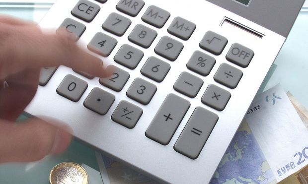 Taschenrechner und Geld - calculator and money