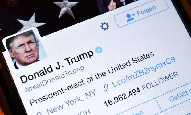 Donald Trumps Twitter-Profil