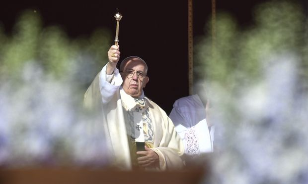 Ostermesse: Papst hofft auf Versöhnung in Israel