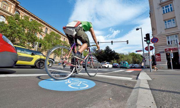 Je mehr Radler, desto mehr Sicherheit, weil mehr Rücksicht.