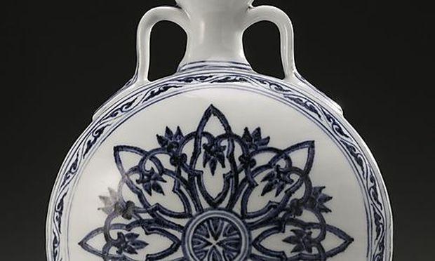 Das Auktionshaus Sotheb's ging von einem maximalen Wert der Vase von 900.000 Dollar aus.
