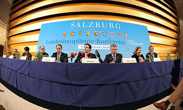 Nach der Landesfinanzreferentenkonferenz folgte ein Pressegespräch.