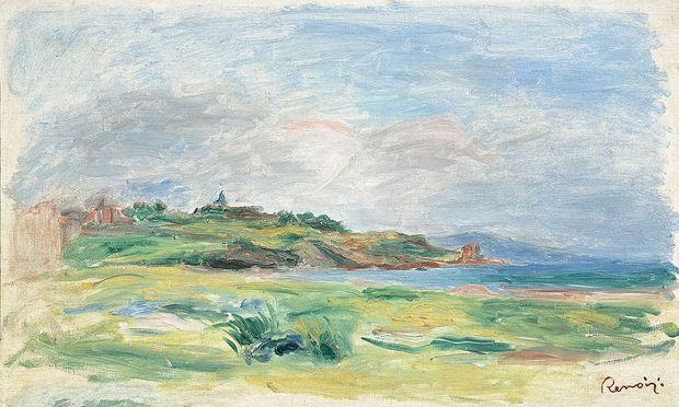 Das Renoir-Gemälde, wie es im Auktionskatalog zu finden war.