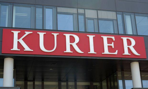 Redaktionsgeb�ude von der Tageszeitung Kurier in Wien PUBLICATIONxINxGERxSUIxAUTxHUNxONLY 1057304733