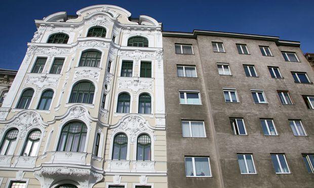 Renoviertes Altstadthaus in Wien