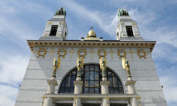 Die Kirche am Steinhof.