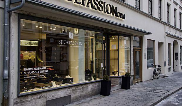 Symbolfoto Geschäftsportal Shoepassion München