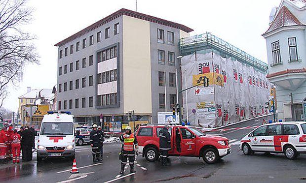 Bombe Bezirkshauptmannschaft Horn