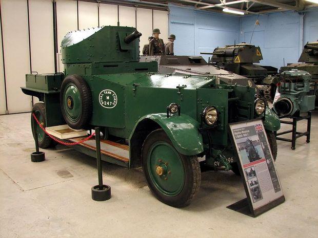 Rolls-Royce-Panzerwagen im Panzermuseum von Bovington, Südengland